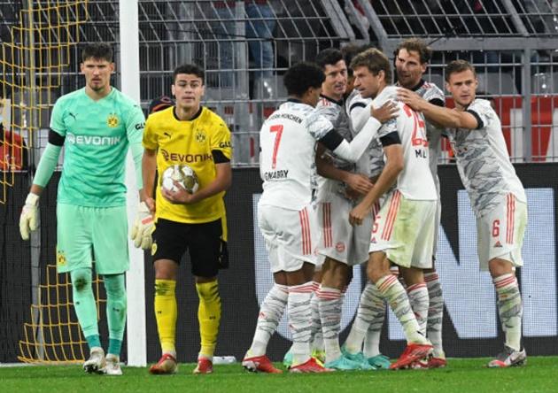 Chấm điểm Bayern vs Dortmund: - Bóng Đá
