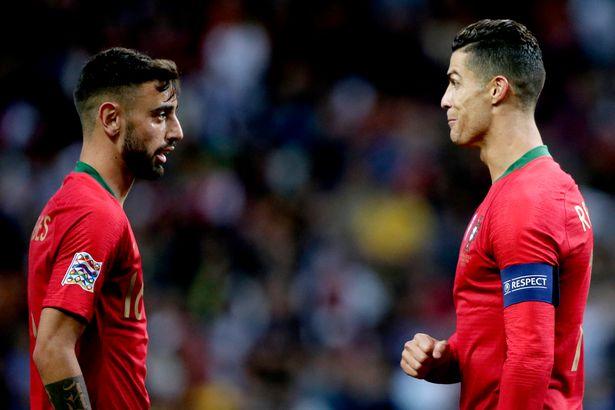 Ronaldo ảnh hưởng ra sao đến Bruno Fernandes - Bóng Đá