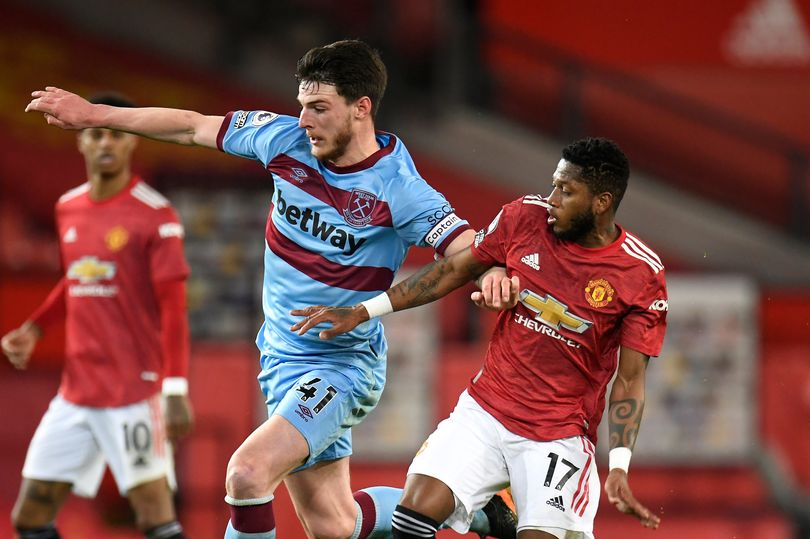 Manchester United identify Declan Rice as prime midfield transfer target - Bóng Đá