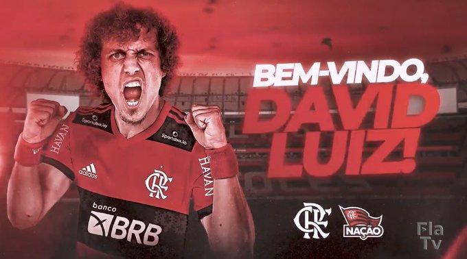 David Luiz gia nhập flamengo - Bóng Đá