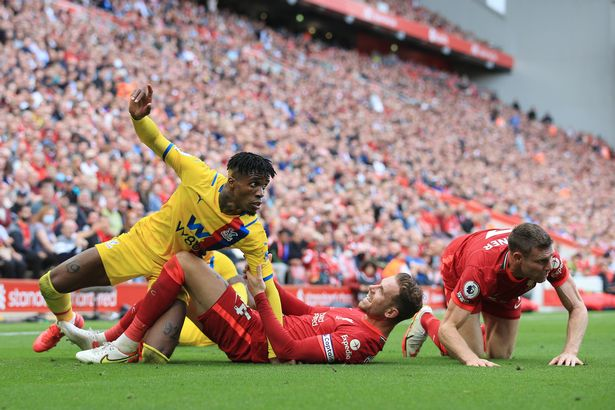 James Milner pokes fun at Trent Alexander-Arnold's absence with Wilfried Zaha jibe - Bóng Đá