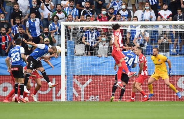 Thất bại trước nhược tiểu, Atletico dâng ngôi đầu cho Real - Bóng Đá