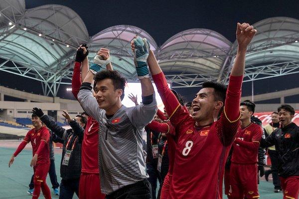 Những khoảnh khắc lịch sử của U23 Việt Nam - Bóng Đá