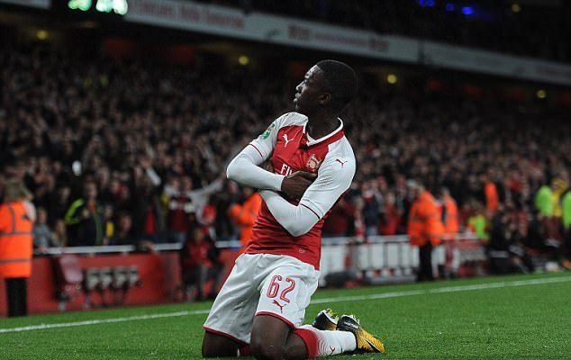 Nhờ Eddie Nketiah, HLV Wenger được dịp 'lên mặt' với Chelsea - Bóng Đá