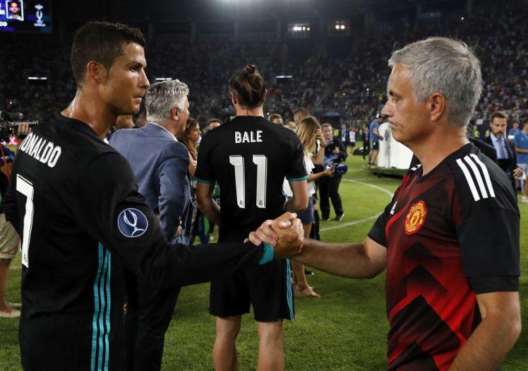 Mourinho nhắn gì với Ronaldo sau danh hiệu Ballon d'Or 2017? - Bóng Đá