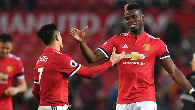 Paul Pogba và Alexis Sanchez đá như đùa - Bóng Đá