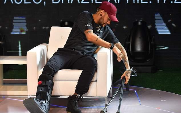 Neymar ấn định ngày trở lại - Bóng Đá