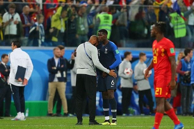 Henry biểu cảm ra sao khi tuyển Pháp đánh bại Bỉ? - Bóng Đá