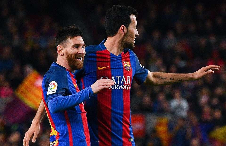 4 từ Messi nói với Guardiola trong lần đầu tập luyện với Busquets - Bóng Đá