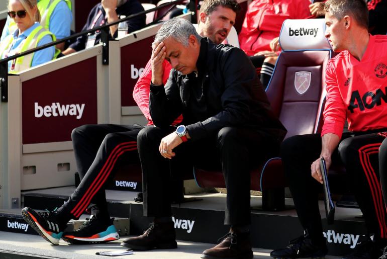 Thua West Ham, Mourinho san bằng 'thành tích' của David Moyes - Bóng Đá