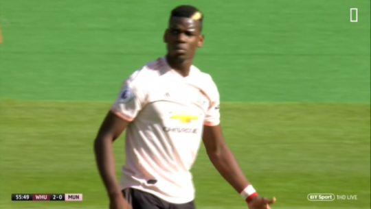 Bị cô lập trước West Ham, Pogba nổi giận với các đồng đội - Bóng Đá
