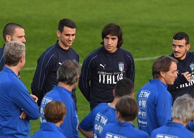 Mancini khen 'tiểu Pirlo' Sandro Tonali: