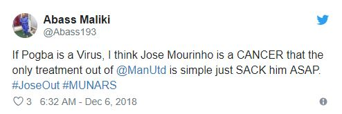 Không Pogba, fan Man Utd chỉ ra con 'virus' thật sự trong đội hình Man Utd - Bóng Đá
