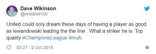 Man Utd fans drool over Robert Lewandowski's goal-scoring display against Spurs - Bóng Đá