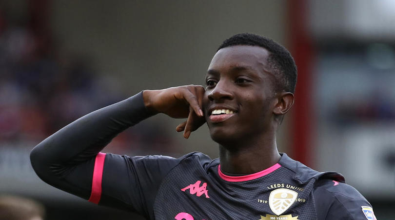 Eddie Nketiah could be recalled by Arsenal from Leeds in January - Bóng Đá