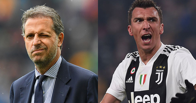 Juventus director reveals Mario Mandzukic transfer stance amid Manchester United links - Bóng Đá