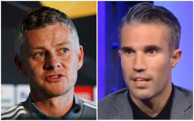 Robin van Persie identifies Manchester United style of play which works best - Bóng Đá