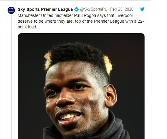 Liverpool fans react to Paul Pogba's complimentary comment - Bóng Đá