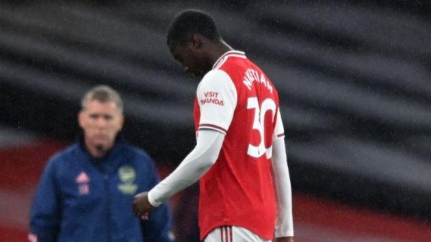 Mikel Arteta: Arsenal boss angered by Eddie Nketiah's dismissal and Jamie Vardy let-off - Bóng Đá
