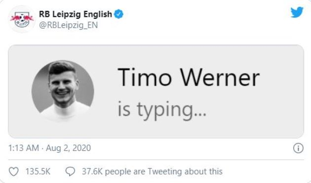 RB Leipzig taunt Chelsea with Timo Werner transfer jibe after FA Cup Final defeat to Arsenal - Bóng Đá