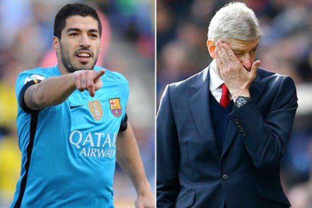 Arsene Wenger explains 'ludicrous' £40,000,001 bid for Liverpool star Luis Suarez - Bóng Đá