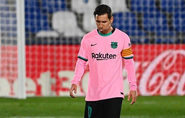 Real gọi, Barcelona trả lời với trận thua Getafe - Bóng Đá