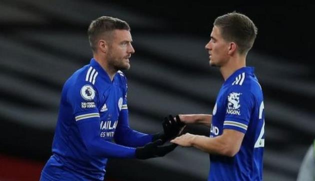 Jamie Vardy: Leicester's big name for big games is at it again - Bóng Đá