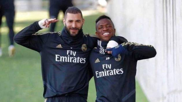 Case closed: Benzema and Vinicius talk and clear the air - Bóng Đá