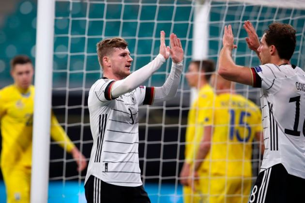 'Best striker in the world' - Chelsea fans go crazy after what Timo Werner did for Germany - Bóng Đá
