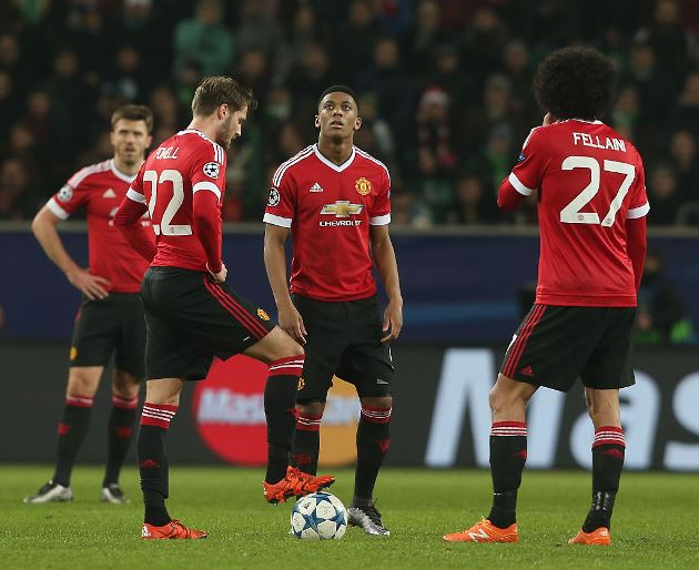 A look back at Van Gaal's Manchester United XI who were KO'd in Germany - Bóng Đá