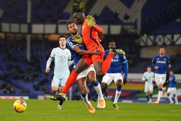 Frank Lampard does not blame Edouard Mendy for Everton loss - Bóng Đá