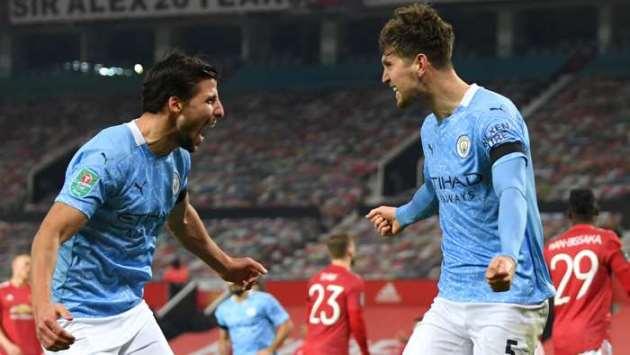 Man City defender Stones says he thrives in big games after crucial goal at Man Utd - Bóng Đá