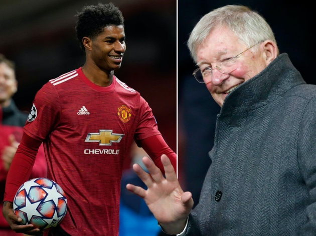'I've known him since he was 7... he's developed into a truly wonderful person': Sir Alex Ferguson pays emotional tribute to Marcus Rashford - Bóng Đá