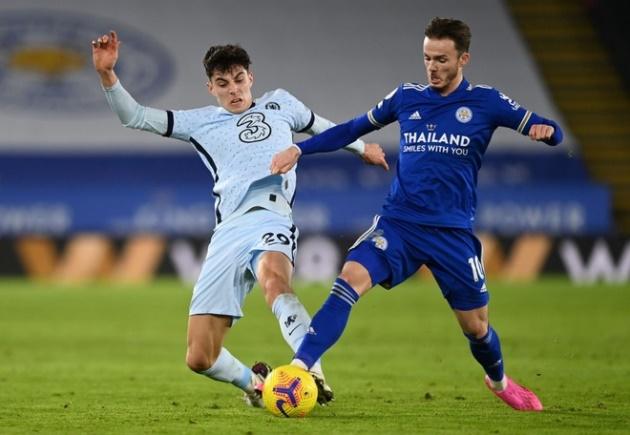 Màn trình diễn của Kai Havertz vs Leicester - Bóng Đá