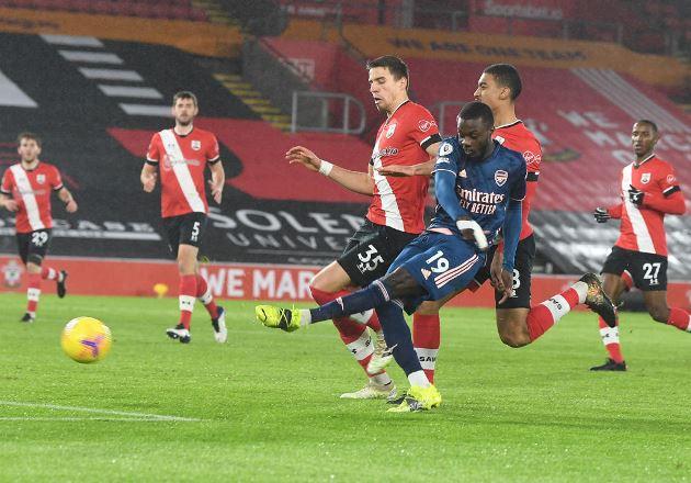 Mikel Arteta says Nicolas Pepe took his Arsenal chance against Southampton - Bóng Đá