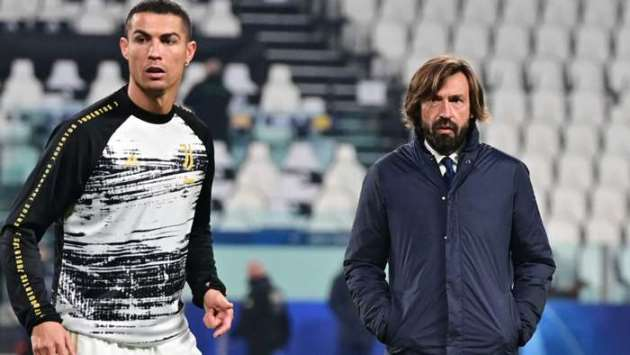 'There's no clause stopping me from subbing Ronaldo out' - Pirlo defends taking Juventus star off pitch in win over Inter - Bóng Đá
