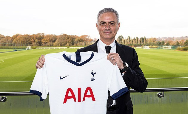 Tottenham will have to pay Jose Mourinho £35MILLION if they decide to sack him... - Bóng Đá