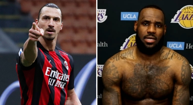 Zlatan Ibrahimovic hits back at LeBron James - Bóng Đá