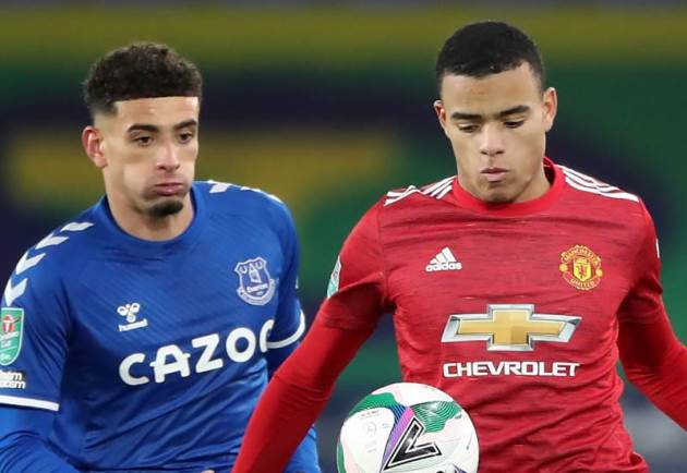 He's So Two-Footed – Everton Talent Says Man Utd Star Best He's Ever Faced - Bóng Đá
