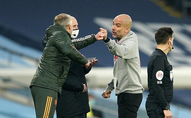Pep Guardiola insists he has 'no problem' with Ole Gunnar Solskjaer - Bóng Đá