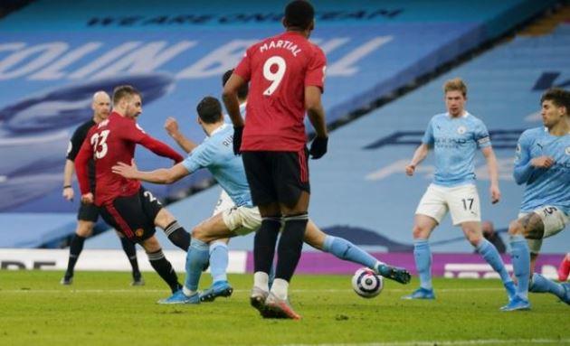 Dùng 'công thức cũ', Man Utd cắt đứt mạch 21 trận toàn thắng của Man City - Bóng Đá