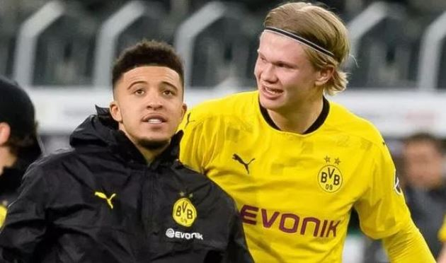 Man Utd told they had 'lucky escape' not signing Jadon Sancho in Erling Haaland claim - Bóng Đá