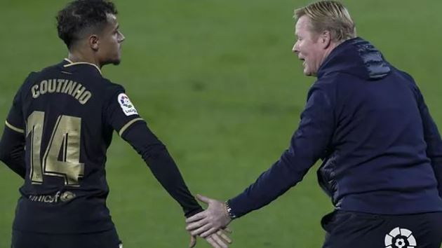 Koeman's toughest challenge: Can he get Coutinho involved again? - Bóng Đá