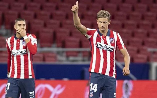 Atletico will not negotiate with Manchester United for Marcos Llorente: Release clause or nothing - Bóng Đá