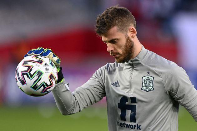 United star David de Gea left on the bench again for Spain - Bóng Đá
