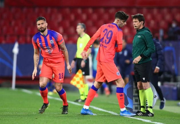 Chelsea manager Thomas Tuchel explains decision to sub off Timo Werner and Kai Havertz during Porto Champions League  - Bóng Đá