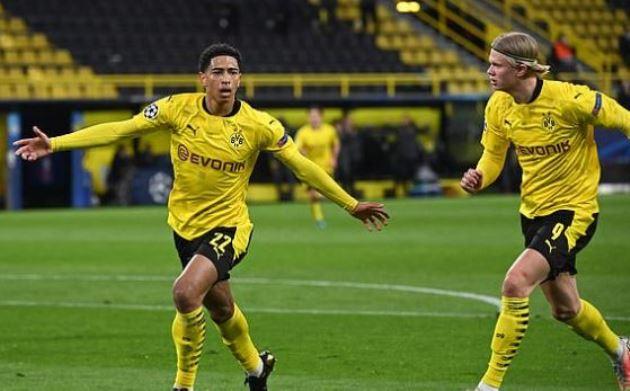 TRỰC TIẾP Dortmund 1-0 Man City (H1): Bellingham lập công - Bóng Đá