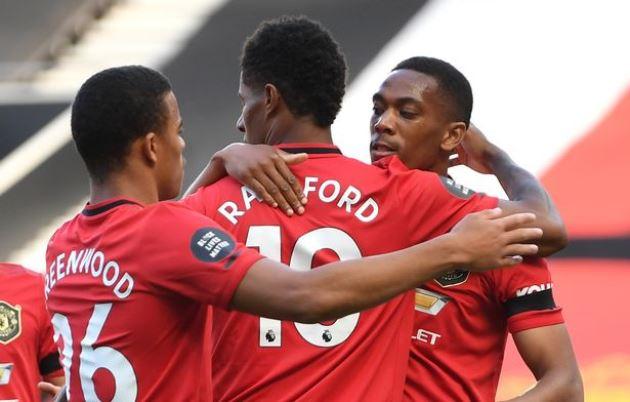 Paul Scholes identifies big Man Utd problem with Rashford, Greenwood and Martial - Bóng Đá