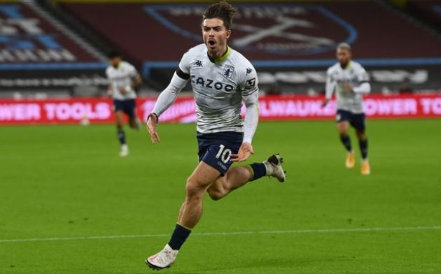 Jack Grealish 'has release clause in Aston Villa contract' amid Man Utd and City links - Bóng Đá