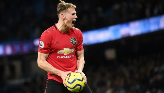 McTominay  McTominay names the Man United player who he believes is the best Old Trafford talent of the last 10 years - Bóng Đá